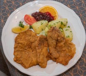 Köstliche Schnitzel